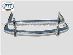 1962 1972 BMW 15002000NK Stainless Steel Bumper