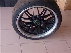 17 INCH LS 7 RIMS CUSTOM BLACK